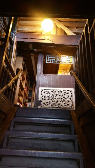 Staircase to 3rd floor.