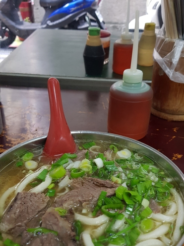 With Google Map, I located this joint which serves beef noodles nearby.