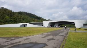 Futuristic building.