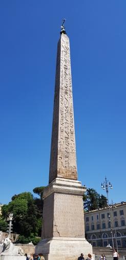 Morning obelisk.