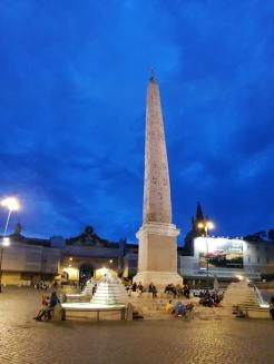 Night obelisk.