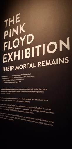 Pink Floyd Exhibition in Museum of Contemporary Art of Rome.