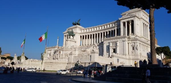 Vittorio Emanuele II Monument. Rome, Italy.