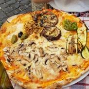 Pizza. With Eggplants. Delish!