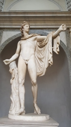 """Our guide told us something about """"Roman copies""""."""