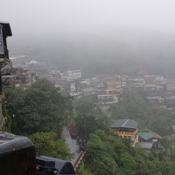 A rainy Jiufen, Taiwan.
