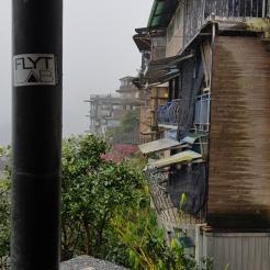Rainy Jiufen, Taiwan.