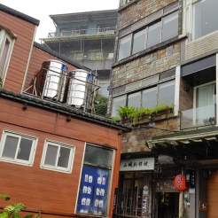 Another shot of rainy Jiufen.