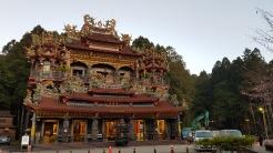 Majestic temple in Alishan.
