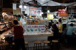 Food stalls in Ben Thanh Market.