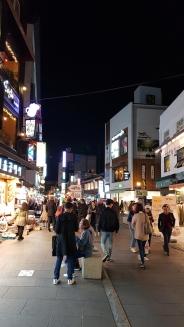 Street view of Insadong. Seoul, Korea.