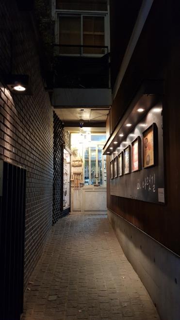 Exploring the alleys of Insadong. Seoul, Korea.