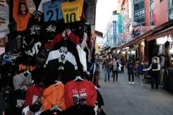 Clothing shop in Namdaemun market. Seoul, Korea.