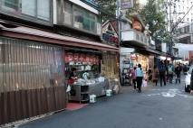 Eatery in Namdaemun market. Seoul, Korea.