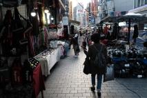 Shopping at Namdaemun market. Seoul, Korea.