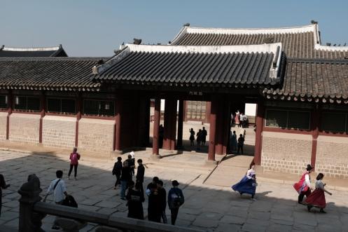 Gyeongbokgung Palace. Seoul, Korea.
