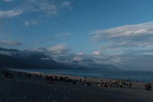 Hualien Qi Xing Tan Beach, Taiwan.